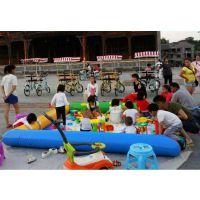 新款广场沙池海洋球池 决明子沙滩玩具充气游乐设备 小号玩沙池特价包邮