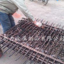 厂家批发定做 铁艺护栏花园铸铁围栏 别墅外墙护栏园艺栅栏