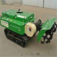 履带式硬土旋耕机 富兴可开沟施肥回填机 柴油28马力果园除草机