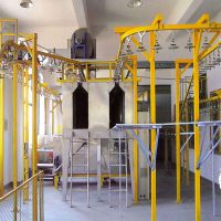 悬挂链涂装输送线