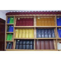 明源建材 供应PVC树脂瓦 合成树脂瓦 ASA别墅园林树脂瓦价格