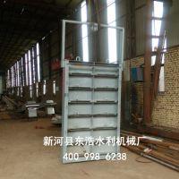 不锈钢钢闸门叠梁闸门价格&定轮滑动钢制闸门生产商&木质叠梁闸门