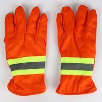 供应阻燃手套 97款消防手套 红手套 防护手套
