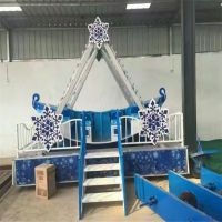 亳州游乐场儿童豪华海盗船娱乐玩具炫彩可移动海盗船广场夜市设备