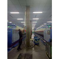 纺织厂车间用吸尘器吸地面绒毛纤维设备表面灰尘用威德尔3KW工业吸尘设备