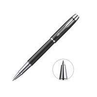 派克(PARKER)IM都市系列笔 礼品办公用品学生钢笔男女文具笔 IM纯黑丽雅白夹宝珠笔
