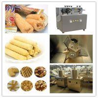 不锈钢100-120kg/h 夹心米果夹心小枕头小食品生产设备