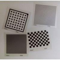 3nh三恩时测试胶片菲林卡棋盘卡定位板标定板掩膜版定制高精度标定工具