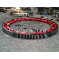 优化结构设计2.6X20米滚筒烘干机大齿轮
