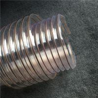 厂家供应聚氨酯PU吸尘器软管除尘吸尘管