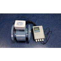 DN125管径酸、碱、盐溶液体积流量测量四氟衬里分体型电磁流量计