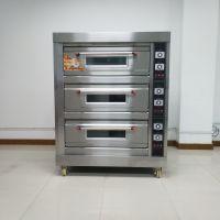 三层六盘电烤箱 上下独立可控温面包烘炉 面包房用烘焙设备
