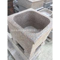 惠安石雕厂家石头拖把池 现货供应 高档精品整石拖把池可定制