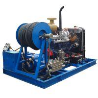 供应宏兴牌 电驱动高压除锈清洗机 工业水喷砂除漆除锈清洗机