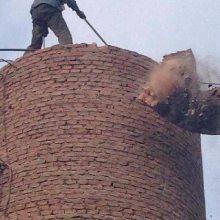 锅炉烟囱、烟道、除尘器拆除-专业施工