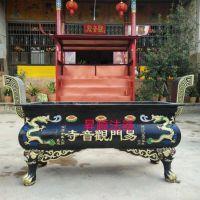 昇顺法器生产大型长方形铸铁香炉 温州苍南铁香炉生产厂家