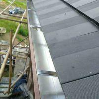 常熟铝合金彩铝天沟檐沟屋檐雨水槽系统檐槽下水
