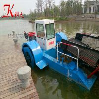 科大快速打捞水草设备 清除漂浮水葫芦机械