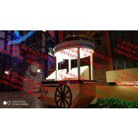鄂尔多斯商业街售货亭内蒙古包头商业街贩卖花车火车头售货亭