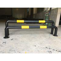 厂家直销湖南U型挡车定位杆烤漆挡车管直角挡车杆可活动分离杆