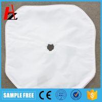 涤纶 丙纶工业压滤布四氟胶条八角板框滤袋 电镀废水处理