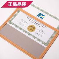 布谷鸟欧式创意A4纸质奖状外壳 A4荣誉授权证书相框封皮证件颁奖展示烫金环保纸