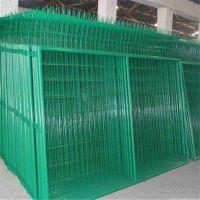 现货供应双边丝护栏 浸塑桃型柱护栏网 高速隔音声屏障