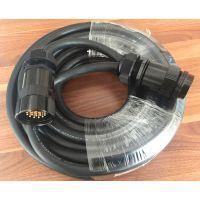 捷成流动演出系统用接插电缆19芯灯光链接缆:ZR-YSFFR13*2.5mm2专业耐寒抗拉链接缆