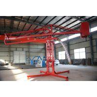 专业生产12米15米18米手动混凝土布料机/315回转支承/中联泵管