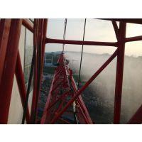 黄梅县施工工地塔吊喷雾喷淋设备,零死角喷淋除尘降温