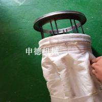 环保布袋褶皱布袋_褶皱波纹除尘滤袋可定制