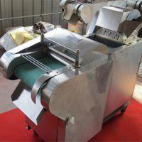 不锈钢电动切菜机 土豆切块切段机商用厨房炊事设备