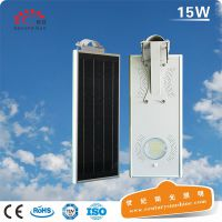 若日新款太阳能庭院灯一体太阳能路灯新农村建设小区照明路灯