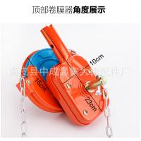 沧州厂家生产大棚卷膜器 供应塑料大棚韩式顶用手动通风卷膜器