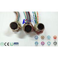 法兰座式轨道交通|M12/M8插头插座以太网专用M12接插件