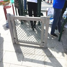 伊春篮球场隔离网价格公道 (国帆丝网)学校体育场围网