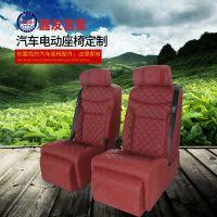 汽车座椅更换 丰田赛纳后排中间座位改装 改装suv后排航空座椅