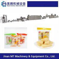 台湾米饼设备多少钱 膨化食品生产线 美腾