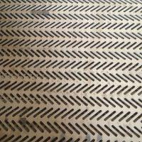 不锈钢冲孔网板圆形八字形图案冲孔网图案加工定制洞洞板冲孔筛网过滤网