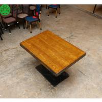 多多乐家具 中式快餐店四人桌椅 快餐曲木椅高档餐桌椅