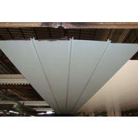铝条扣装饰天花,加油站吊顶防风专用300面S形铝扣板。