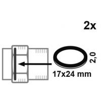 管件铜接头橡胶平垫片出口德国市场--通过KTW,W270,DVGW认证