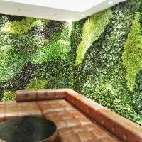 东莞知名仿真植物墙厂家 假绿植墙工厂生产