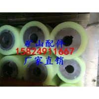厂家加工定做聚氨酯胶辊 轴承包胶 聚氨酯包胶轮