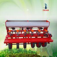 双鸭山拖拉机带四六行小颗粒播种机 手推汽油播种机 谷子油菜精播机价格