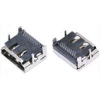 视频高清19Pin插座 HDMI A型母座 90度插板 两排针 DIP