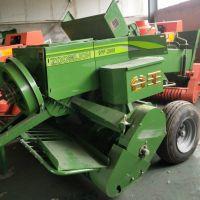 养殖业专用全自动玉米秸秆打包机 小型牧草压捆机 皇竹草打捆机