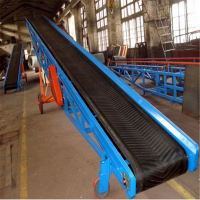 按要求作皮带输送机设计 兴亚物料装车皮带输送机图片