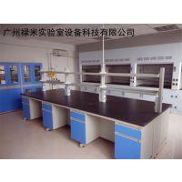 定制钢木中央实验台 耐酸碱耐腐蚀生物技术实验室设备 LUMI-SYT-QG609F