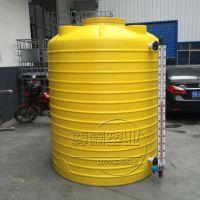 南陵尊霖5吨塑料水箱 5立方PE水塔 5000L防腐储罐